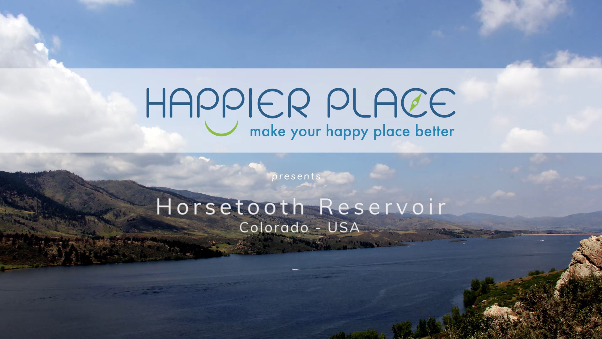 Horsetooth Reservoir - Colorado - Happier Place